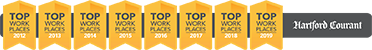 Norcom has been voted one of the Hartford Courant's Top Workplaces for 8 years running